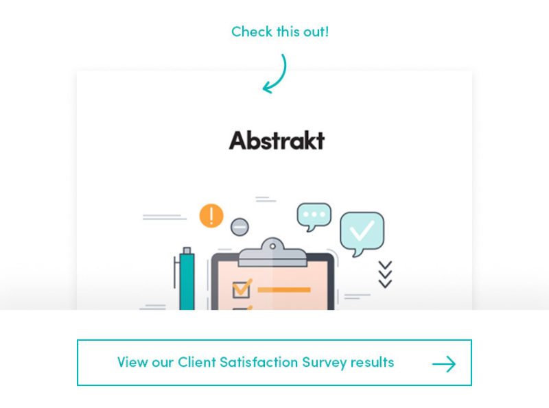 Why you're on Abstrakt's client wish list...